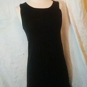 Charlie Paige black knit sleeveless dress-sz S